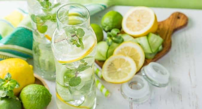 натурални методи детокс у дома лимонена вода