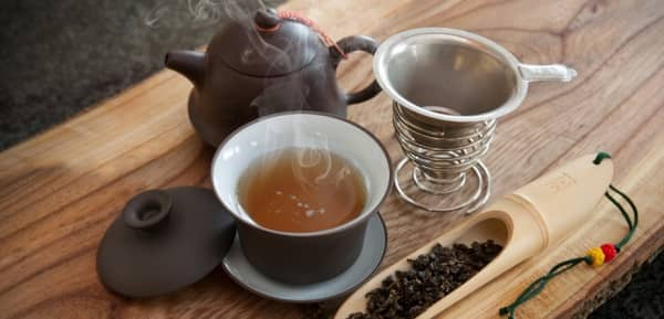 чай комплект за пиене