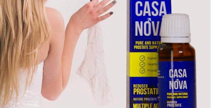 Casanova опаковка и момиче