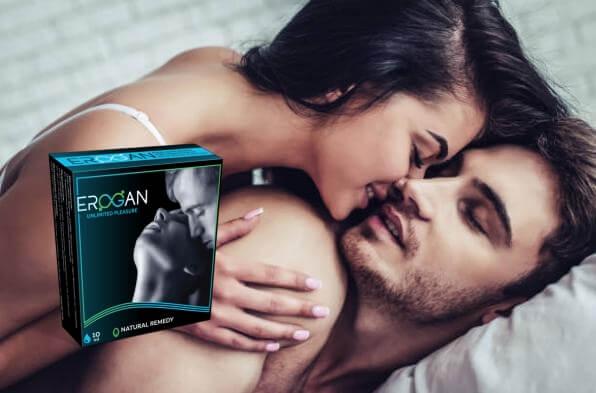 Erogan опаковка, мъж и жена