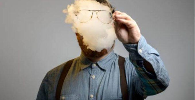 никотин, дим, мъж