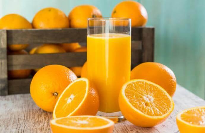 сок от портокал, портокали