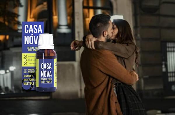 casanova, мъж целува жена