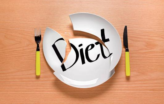 чиния, прибори, диета