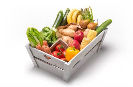 щайга, плодове, зеленчуци