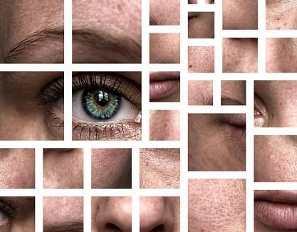 око, кожа, лице