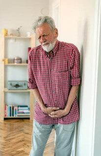 мъж, болки в простата