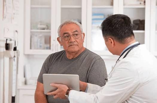 проблеми с простата, лекар