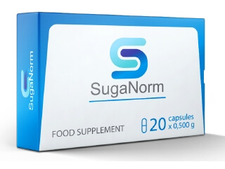 SugaNorm капсули диабет България 20 бр