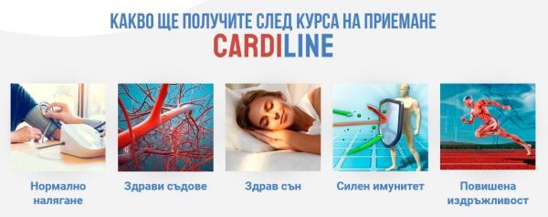 cardiline ефекти, прием