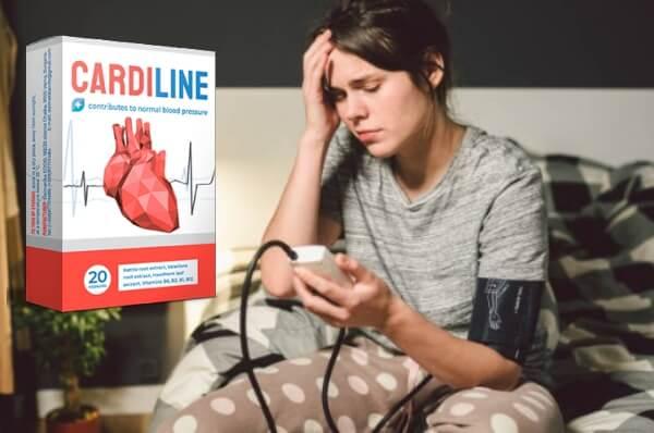 капсули хипертония кардилайн, цеба, кръвно налягане
