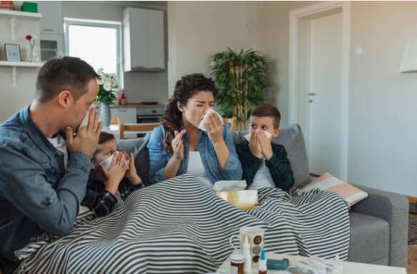 семейство, грип