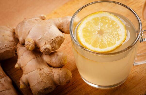 чай, лимон