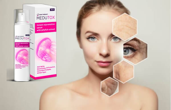 Medutox серум за лице, бръчки