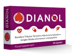 Dianol 20 капсули България