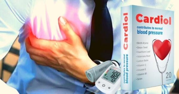 Cardiol - Капсули СРЕЩУ хипертония и ЗА здраво сърце