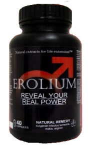 Erolium Forte Max 40 капсули България