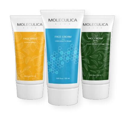 moleculica крем маска серия за кожа