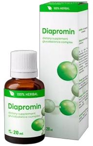 Diapromin Капки при диабет 20 мл България