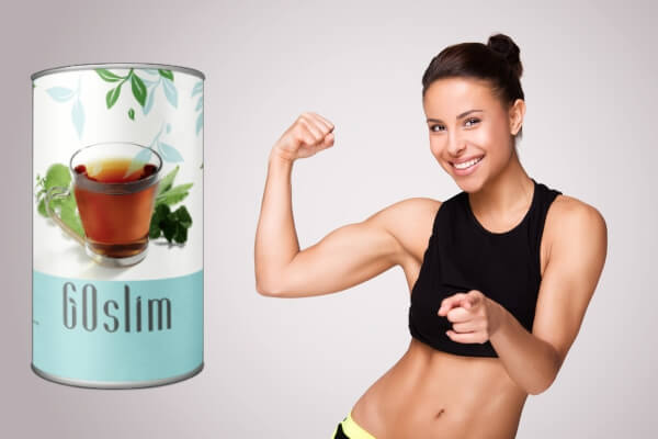 чай за отслабване go slim
